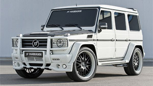 Тюнинг Hamann для Mercedes-Benz AMG G55 Supercharger (W463)